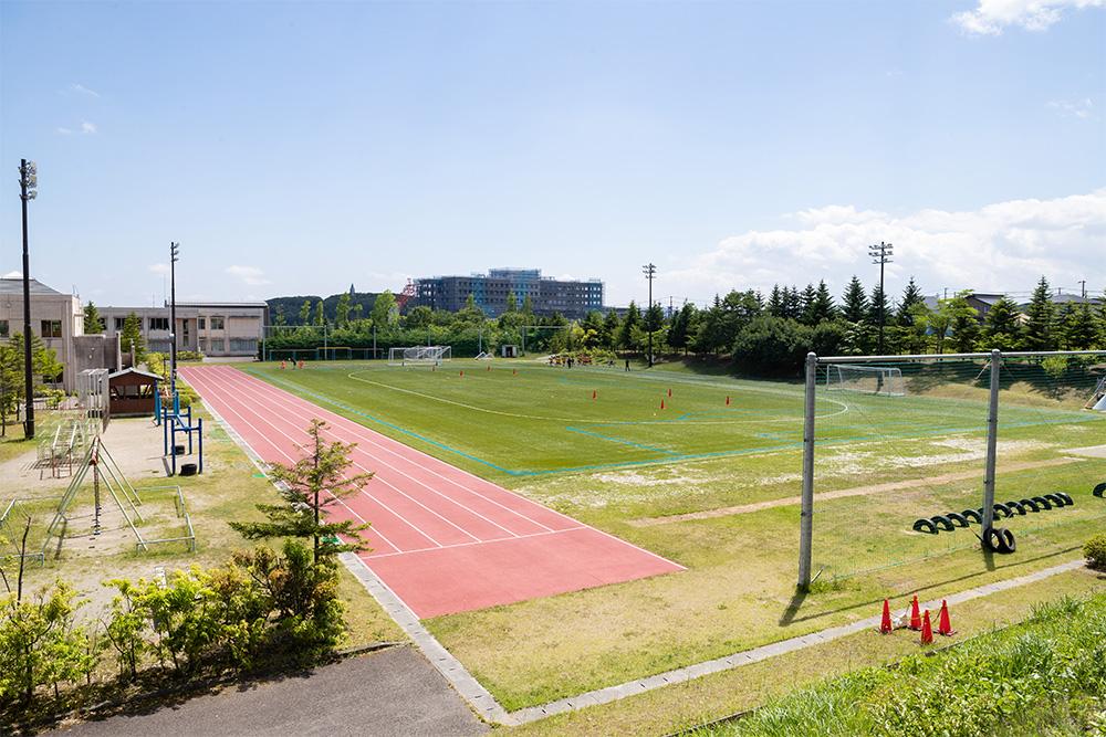 アカデミー練習場 仙台白百合学園小学校 人工芝グラウンド